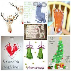 Forleden skrev jeg om en idé med julekugler lavet af ler, der var velegnet til at lave hånd- og fodaftryk på. Ikke med en skostørrelse 44 men en sød idé fra småbørn og babyer. ;-) Her kan du se en …