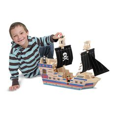 $20 Off Deluxe Pirate Ship Play Set @ Melissa and Doug - Hot Deals Find & vote for the hottest deals at www.hotdeals.com Also find us on FB! www.facebook.com/hotdealscom