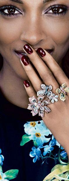 Beautiful model wearing David Morris jewellery. www.misskrizia.com