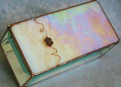 Beautiful stained glass box by @Kelly Teske Goldsworthy Teske Goldsworthy Ingram