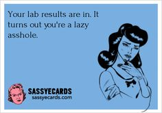 Your lab results are in