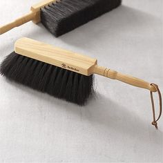 Redecker® Natural Dustpan Brush in Cleaning | Crate and Barrel