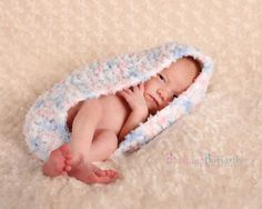 LIMITED TIME ONLY Supersoft crochet baby bowl cocoon for baby- Photography Prop