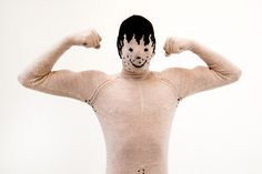 My Knitted Boyfriend, Dutch Designer Knit Bizarre Man Suits As a Way to Stave Off Loneliness