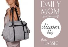 Amazing (natural) diaper bag giveaway. Check it out here!
