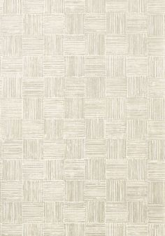 Loom #wallpaper in #white from the Artisan collection. #Thibaut