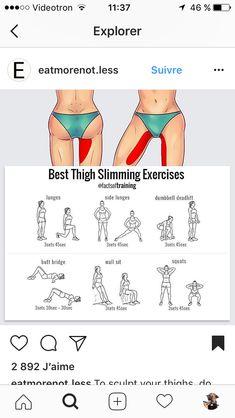 """Thigh gap"" workout"