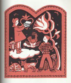 Appolonia's Valentine, illustrated by Katherine Milhous, 1954.