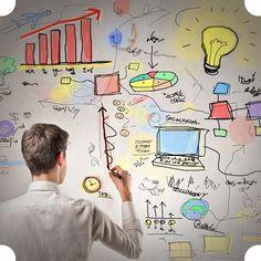 O Design Thinking é uma abordagem alternativa que faz uso de métodos diferenciados para interpretar questões e buscar soluções.   Quer saber como ela pode mudar a visão dos seus projetos? Veja um pouco mais sobre essa estratégia no nosso blog!  http://www.agenciaazul.com.br/design/design-thinking/
