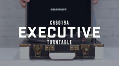 Make a power play with the Executive's jet-setting portability in a three-speed turntable. A USB connection makes this tech-savvy fast talker ready to take musi…