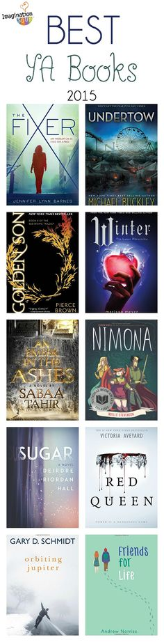 my favorite YA books of 2015 - so many good ones!