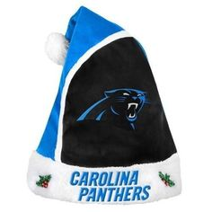 3ac20262add16 Carolina Panthers 2015 NFL Football Team Logo Holiday Plush Basic Santa Hat  Nhl Hockey Teams