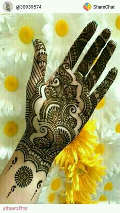 Browse thousands of Bridal Mehndi Designs on HappyShappy this year. You can save simple and latest designs for leg, hands, bride and for the wedding occasion. Mehndi Designs For Girls, Mehndi Designs For Beginners, Stylish Mehndi Designs, Mehndi Designs For Fingers, Wedding Mehndi Designs, Mehndi Design Pictures, Beautiful Mehndi Design, Latest Mehndi Designs, Mehndi Images