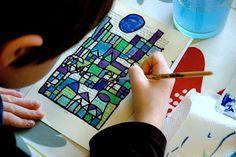 Paul Klee inspired.