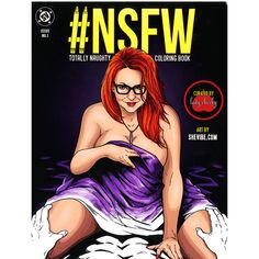 @shevibe #NSFW #Totally #Naughty #Coloring #Book Illustrated by #AlexKotkin Edited by #LadyCheeky @TheElleChase The #NSFW #TotallyNaughty #Coloring #Book features #incredibly #sexy #imagery from #artist #Alex #Kotkin along with the #sensual #aesthetic of #erotic #tastemaker #ElleChase, of the #awardwinning #Lady #Cheeky! Inside this #sultry & #tantalizing coloring book, you'll find a #diverse #array of #scenes #engaging the user in #fantasyworthy acts of #carnal #delight. Finish off…