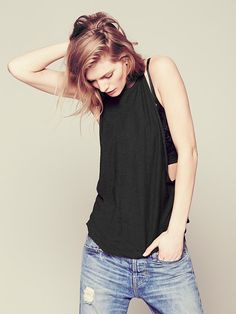 Free People Low Armhole Tank at Free People Clothing Boutique