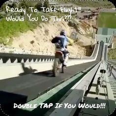I would... Well maybe not... Yeah I would!  Takes Nerves Of Steel I'm Sure!!! #lol  #motorcycle #motorcycles #bike #ride #rideout #bike #biker #bikergang #helmet #cycle #bikelife #streetbike #cc #instabike #instagood #instamotor #motorbike #photooftheday #instamotorcycle #instamoto #instamotogallery #supermoto #cruisin #cruising #bikestagram