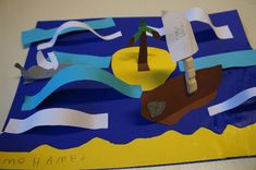 onbewoond eiland, piratenschip