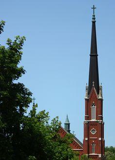 Church steeple............