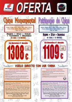 OFERTA Viajes a China 10 dias desde 1109€ + Tasas ultimo minuto - http://zocotours.com/oferta-viajes-a-china-10-dias-desde-1109e-tasas-ultimo-minuto-2/