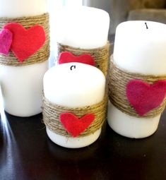 Cozy Little House: Valentine's Day Crafts