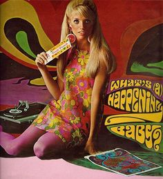 Seventeen Magazine 1967...sometime I still act...