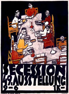 Secession Art Movement by Egon Schiele Fine Art Print