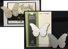 Solid Butterfly die JOSEFINA Poppystamps metal cutting dies 1138 Animals,Insects #Poppystamps