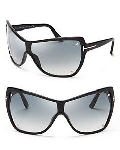 aa89ac863c3d Tom Ford Ekaterina Shield Sunglasses Tom Ford Glasses