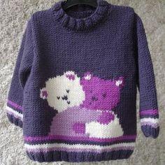 Ideas Crochet Dress Baby Teddy Bears For 2019 Baby Boy Knitting Patterns, Baby Sweater Patterns, Baby Cardigan Knitting Pattern, Knitting For Kids, Knitting Designs, Baby Patterns, Baby Teddy Bear, Knitted Teddy Bear, Teddy Bears