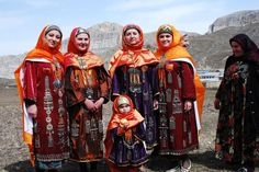 Балхарки, Дагестан Россия   Balkhar women Dagestan Russia