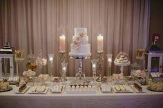 Wedding Decor Toronto Rachel A. Clingen Wedding & Event Design - - Stylish wedding decor and flowers for Toronto Vintage Wedding Cake Table, Sweet Table Wedding, Wedding Cake Display, Sweet Tables, Wedding Vintage, Rosa Desserts, Pink Desserts, Buffet Dessert, Pink Dessert Tables