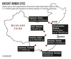 Fossil finds in China are challenging ideas about the evolution of modern humans and our closest relatives.