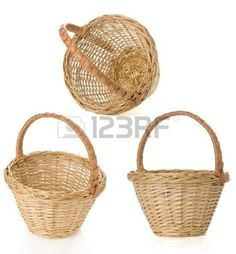 Wicker Basket - traditional look, gives an antique look as RHH tale comes from the Grimm brothers. (123RF, 2016)