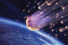 Iron-fall The fall of a siderolite, or iron meteorite.