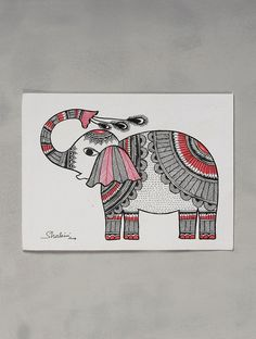 Madhubani Art, Madhubani Painting, Kalamkari Painting, Mandala Art Lesson, Mandala Drawing, Fabric Painting, Painting Tips, Painting Art, Online Painting