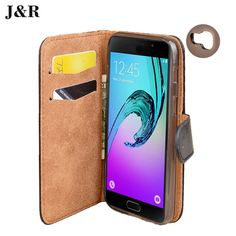 Luxury Original Phone Cases For Fundas Samsung Galaxy A3 2017 case For Coque Samsung A3 2017 SM-A320F Flip Wallet Cover J&R