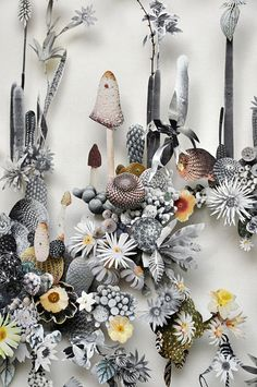 Ann ten Donkelaar  Intricate Fairytale Gardens inspiration
