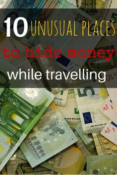 Need some inspiration? 10 unusual places to hide money while travelling http://www.wheressharon.com/travel-products/10-unusual-places-store-money-travelling/