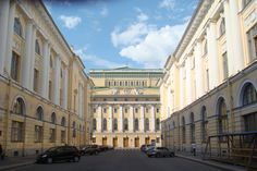 Rossi St, St. Petersburg.  A perfectly proportioned street.  #monogramsvacation