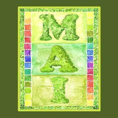 Free Download by kreative-buchstabenkunst mit Anleitung