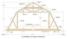 gambrel-roof-truss