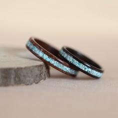 Rosewood santos, zirikote and turquoise inlays