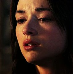Crystal Reed, Aesthetic Gif, Character Aesthetic, Story Inspiration, Character Inspiration, Argent Teen Wolf, Katharina Petrova, Crying Gif, Tears In Eyes