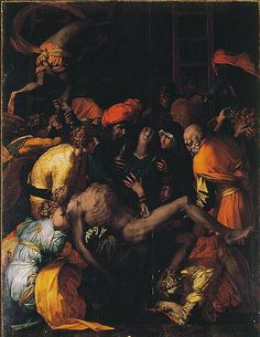 """Retrieved on Rosso Fiorentino """"Deposition from the Cross"""" San Lorenzo, Sansepolcro. The Sacred Image in the Age of Art. written by: Marcia B. Comic Books Art, Comic Art, Comic Kunst, Grimm Fairy Tales, Avengers Wallpaper, New Avengers, Blood Moon, Caravaggio, Fantasy Art"""