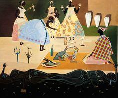 Carybé - Baianas (1957)