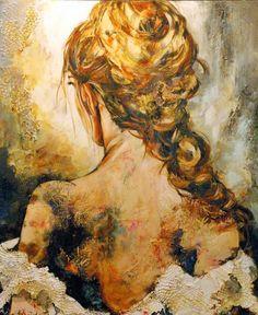 Céline Brossard, 1960   Abstract Mixed media painter   Tutt'Art@   Pittura * Scultura * Poesia * Musica   Celine, Mixed Media Art, Portrait, Abstract, Painting, Woman, Google, Art, Musica