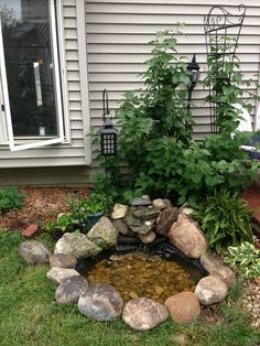 1000 images about outdoor pond on pinterest goldfish for Outdoor goldfish pond ideas