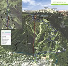 Aspen Mountain (ski area) Summer Hiking Trails