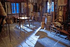 A set from THE HATEFUL EIGHT  Photo: Andrew Cooper, SMPSP  © 2015 The Weinstein Company. All Rights Reserved.